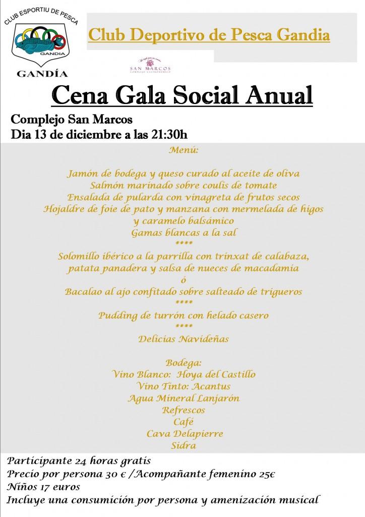cena gala 2014