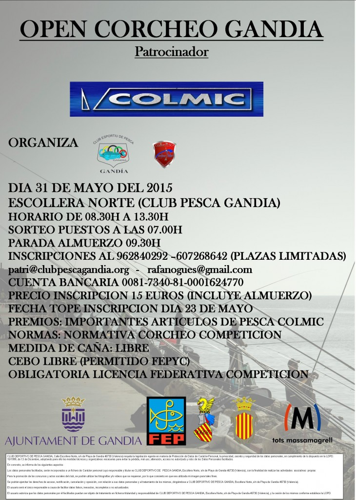 colmic competicion email