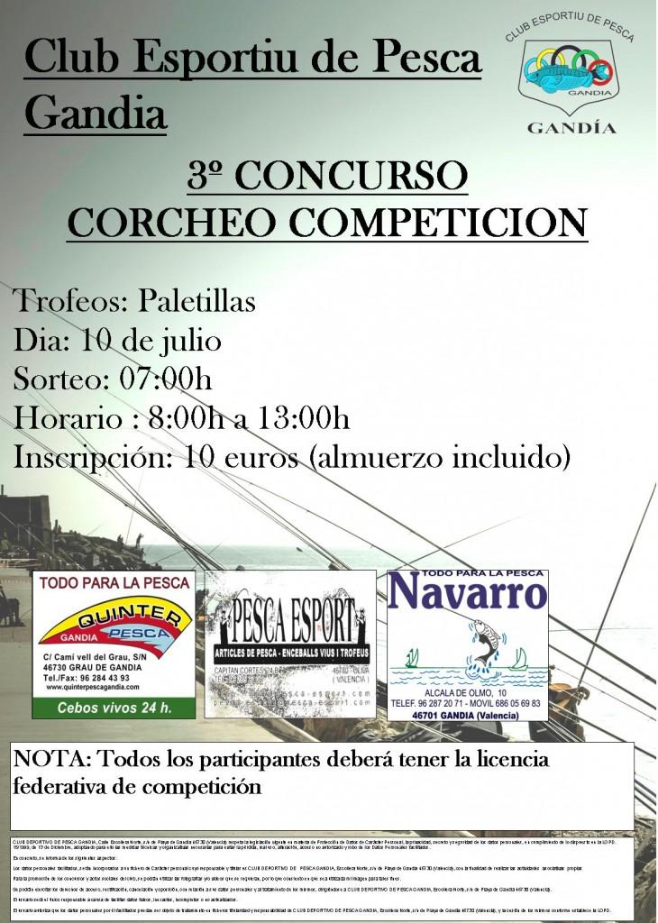 3º CORCHEO WEB