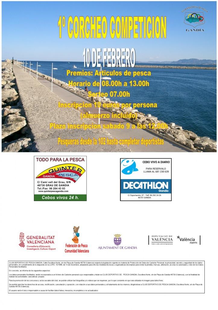 1º CORCHEO COMPETICION web